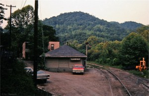 Southern depot, Clairfield, TN