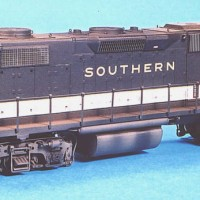 Southern GP38 in HO by Dan Bourque