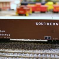 Southern radio car in HO by Dewey Rowland