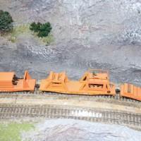 """Southern """"rail train"""" in HO by Dewey Rowland"""