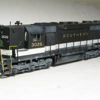 Southern SD35 in HO by Bob Harpe