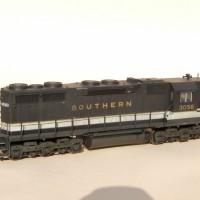 Southern SD35 in HO by Jeff Kraker