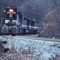 SOU SD40-2s on Loops at Old Fort, NC