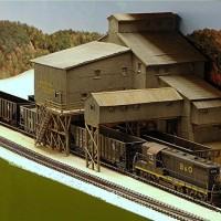 Coal tipple in HO by Tom Rimer