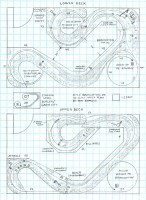 B&LE Branchton and Hilliards Branch track plan HO scale