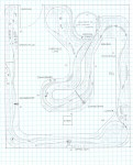 Track plan PRR NYC Cherry Tree & Dixonville, PA N scale - Upper