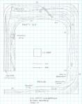 Track plan C&I PRR Nanty Glo, PA N scale