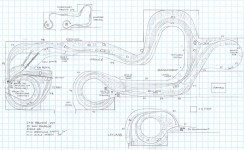 Track plan C&O Prince to Quinnimont, WV HO scale
