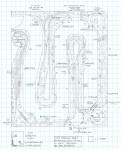 Track plan A&O CSX Cowen Sub HO Scale - Lower Level