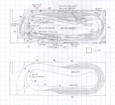 Track plan CRR Kingsport, TN HO scale