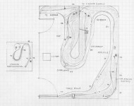 Track plan L&N Martins Fork, KY N scale