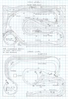PRR Clearfield Branch, PA HO scale track plan
