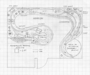 Track plan SOU CRR Clinchcross, NC HO scale