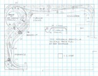 SOU Monarch Branch, VA HO scale track plan