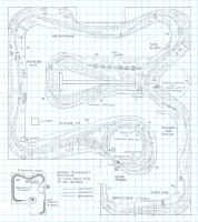Oneida, Tennessee and Brimstone HO scale track plan - lower level