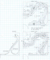 Southern St Charles Branch track plan HO scale by Dan Bourque