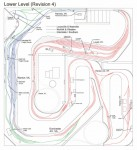 Track plan L&N CV Sub HO scale - Lower