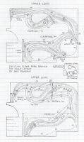 SOU L&N Clear Fork Branch track plan HO