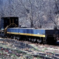US Steel 70-tonner and brake sled, Lynch, KY
