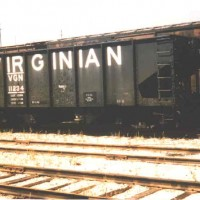 Virginian 55T twin hopper