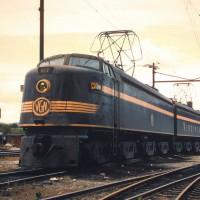 Virginian EL2B 127 at Roanoke, VA