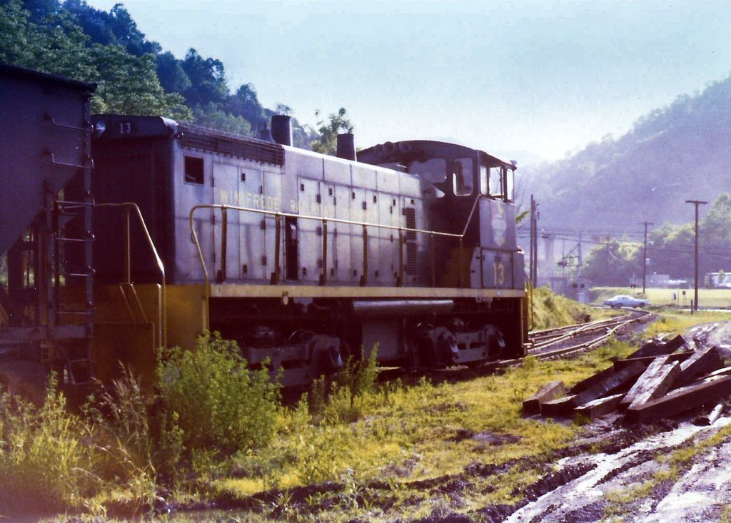 WFRR 13 at Winifrede Jct., WV