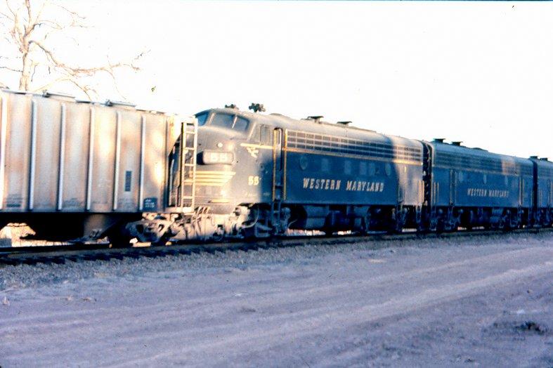 WM F7A 55 at Oak, PA