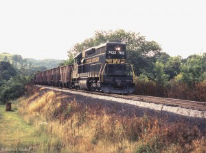 WM SD35 7433 near Chiefton, WV