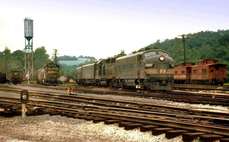 WM engines at Bowest, PA