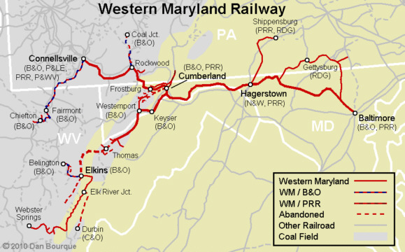 WM Western Maryland  Appalachian Railroad Modeling