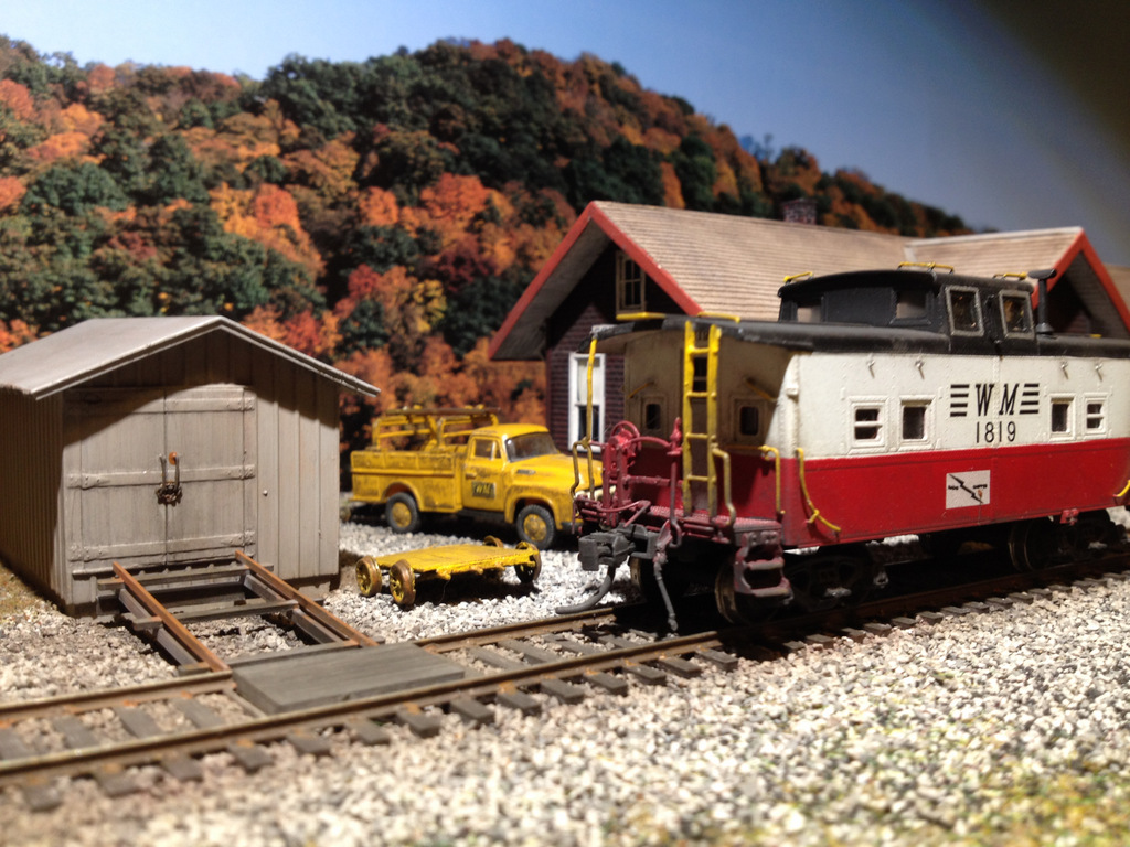 WM caboose by Kevin Yackmack